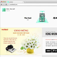 Octofeed - Xem giao diện Facebook theo cách mới