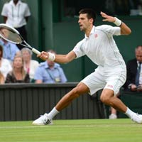 Djokovic - Stepanek p lc qu ln Video tennis vng 3 Wimbledon