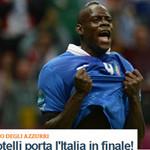 Bóng đá - Người hùng Balotelli tràn ngập mặt báo Italia