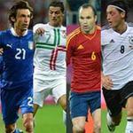 Bóng đá - Quả bóng vàng Euro: Vinh danh tiền vệ?