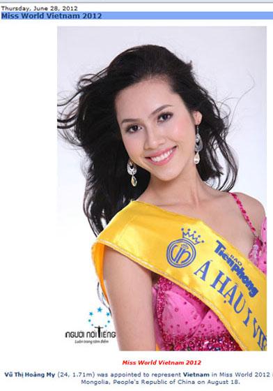 Hoàng My tiếp tục thử sức tại Miss World - 1