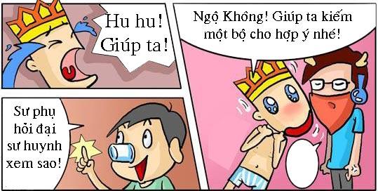Tây Du Ký hài: Sư phụ diện com lê - 5