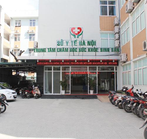 Giới thiệu trung tâm chăm sóc sức khỏe sinh sản HN - 1