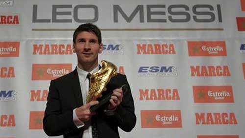 Chiếc giày vàng: Ai cản được Messi - 1