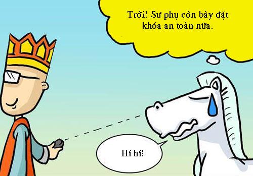 """Tây Du Ký hài: Sư phụ xài """"siêu xe"""" - 5"""