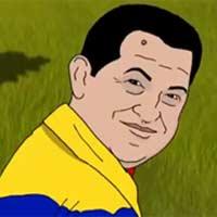 Clip hoạt hình Hugo Chavez lên thiên đàng