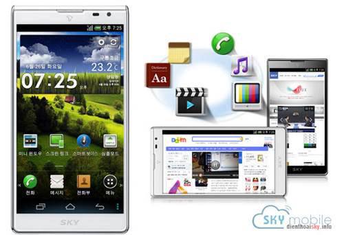 """""""Hello Vietnam 2013"""" nơi bán điện thoại Sky hàng đầu VN - 2"""