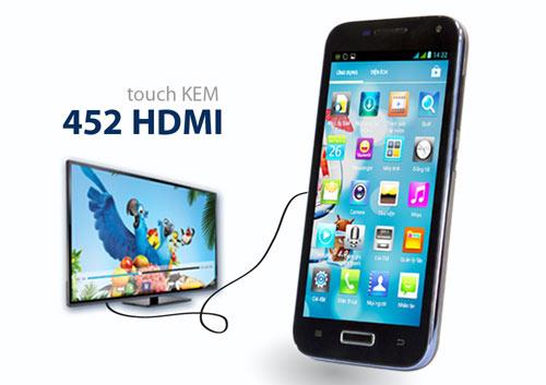 Giới trẻ hào hứng với Touch Kem 452 HDMI - 1