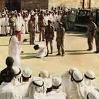 Phận tù mang án chém đầu ở Ả-rập Xê-út
