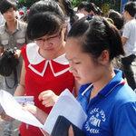 Giáo dục - du học - Sẽ có 2 mức điểm sàn ĐH, CĐ 2013