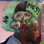 Phi thường - kỳ quặc - Kiếm bộn tiền nhờ quảng cáo trên tóc