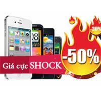 Xả hàng smartphone giảm tới 50%
