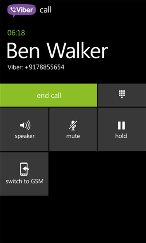 Viber bản full ra mắt trên Windows Phone 8 - 1