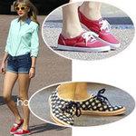 Thời trang - Giày vải: Nguồn cảm hứng Hè của sao!