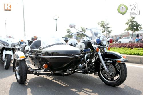 Độc dược Harley Police độ sidecar tại Việt Nam - 5