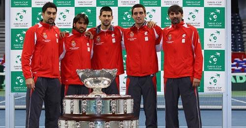 Khát vọng của Nole trước tứ kết Davis Cup - 1