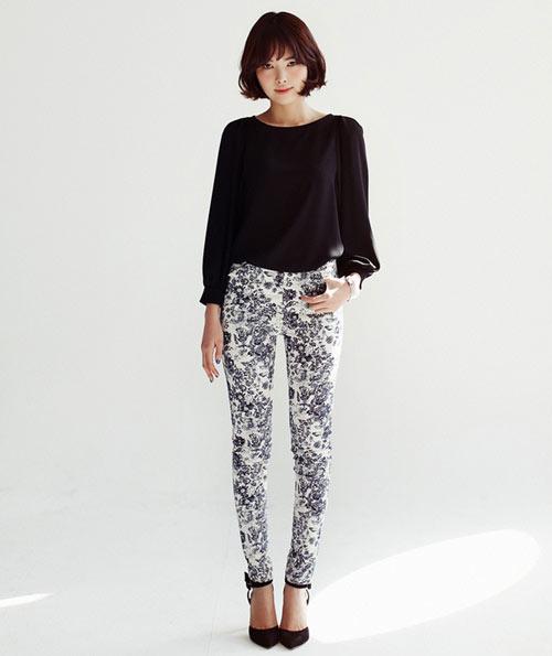 Mách nàng mặc đẹp với 2 kiểu quần jeans - 8