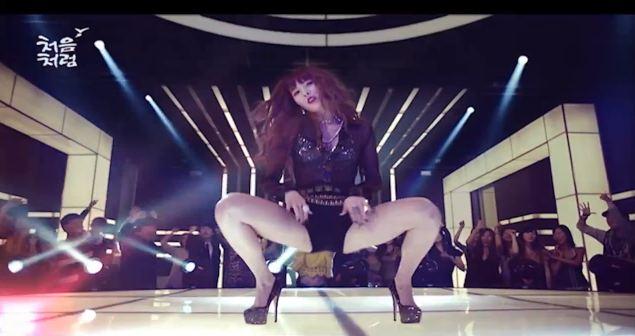 Khoảnh khắc sexy nhất của mỹ nhân K-Pop - 2