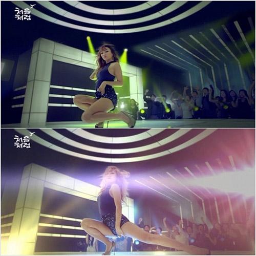 Khoảnh khắc sexy nhất của mỹ nhân K-Pop - 1