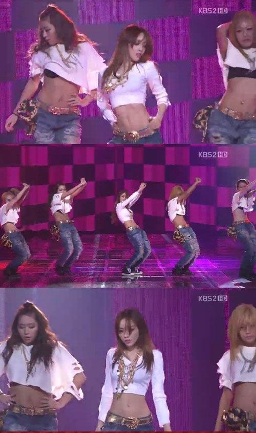 Khoảnh khắc sexy nhất của mỹ nhân K-Pop - 4