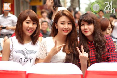 Hot girl Hà thành hội ngộ khoe nhan sắc - 8