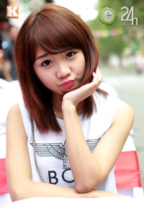 Hot girl Hà thành hội ngộ khoe nhan sắc - 1