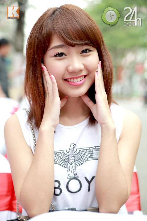 Hot girl Hà thành hội ngộ khoe nhan sắc - 2