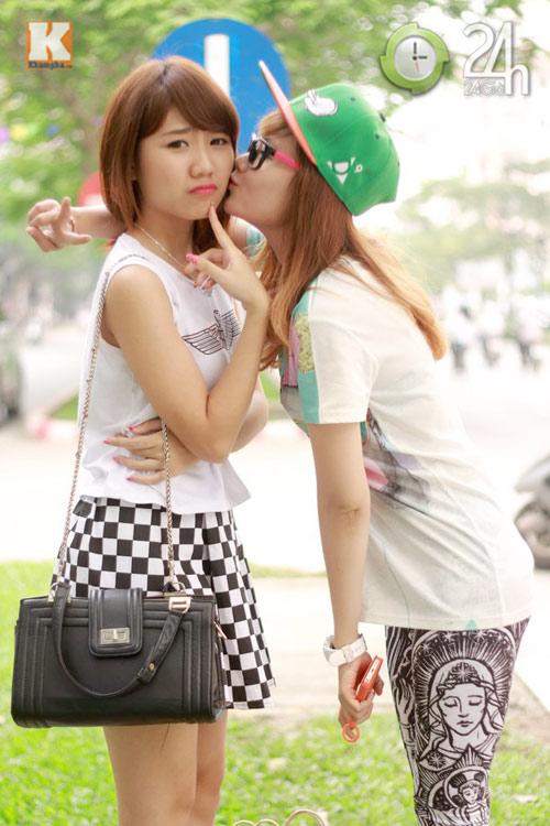 Hot girl Hà thành hội ngộ khoe nhan sắc - 12