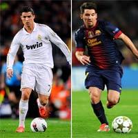 Vua phá lưới C1: Song mã Ronaldo - Messi