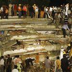 Tin tức trong ngày - Ấn Độ: Nhà sập tan tành, 72 người thương vong