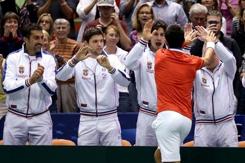 Djokovic chia sẻ sau trận gặp Isner - 1