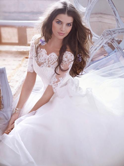 Đầm cưới tôn vòng eo đẹp cho cô dâu - 2