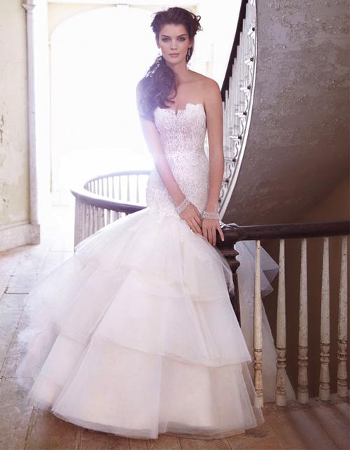 Đầm cưới tôn vòng eo đẹp cho cô dâu - 5