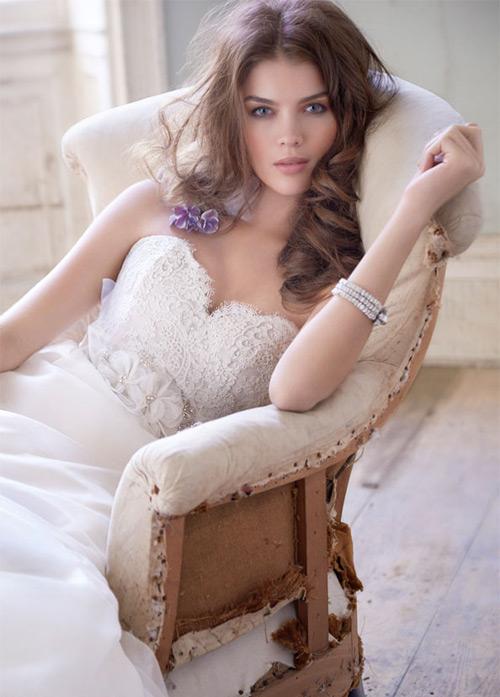 Đầm cưới tôn vòng eo đẹp cho cô dâu - 7