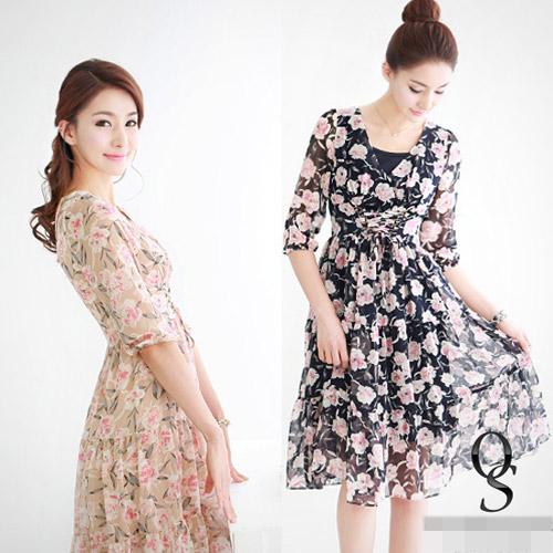 """Váy hoa """"xu nịnh"""" nữ công sở ngày Hè - 8"""