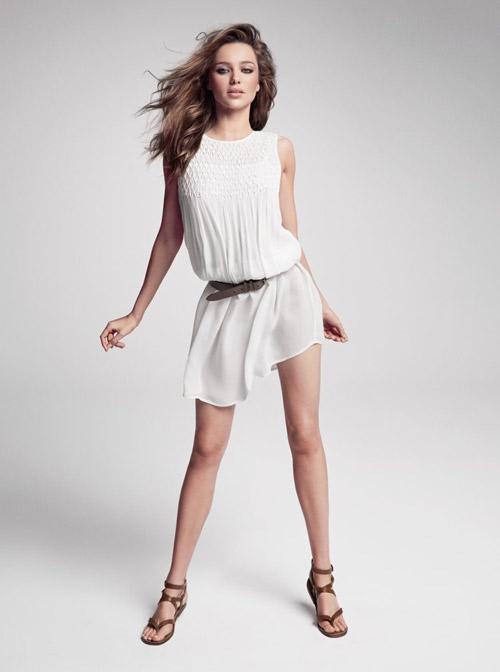 Học Miranda Kerr quyến rũ ngày hè - 8