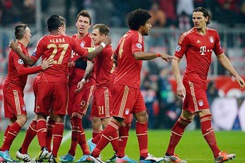 Frankfurt - Bayern: Đăng quang - 1