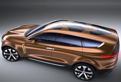 Kia Cross GT Concept: Nghênh chiến xe sang - 3