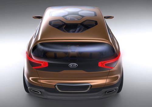 Kia Cross GT Concept: Nghênh chiến xe sang - 5