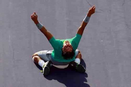 Rafael Nadal vẫn là Vua đất nện - 1