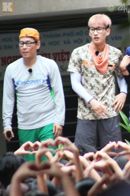 Dàn sao Hàn nhảy điên cuồng cùng fan Việt - 16