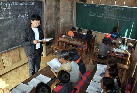 Giáo viên nhường phòng ở để mở lớp học - 1