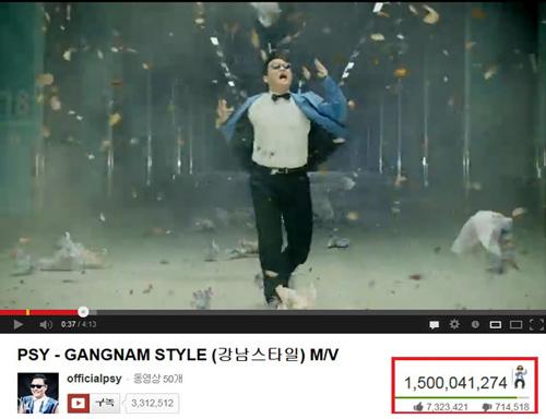 1,5 tỷ người xem và MV mới của Psy - 1