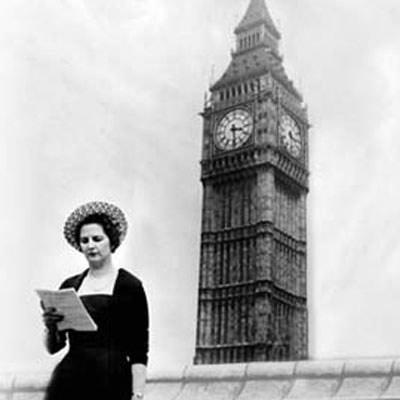 """Cuộc đời """"Bà đầm thép"""" Thatcher qua ảnh - 9"""