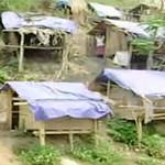 Giáo dục - du học - Học sinh dựng lều bên sườn núi trọ học