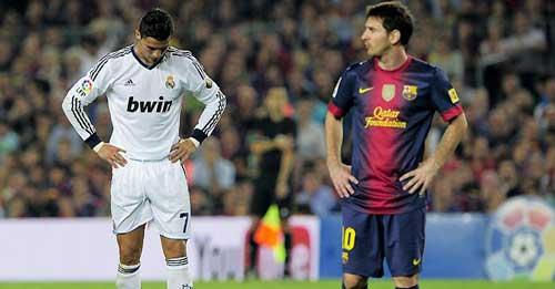 """Chuyện """"độc quyền"""" của Messi và Ronaldo - 1"""