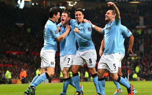 """Mancini: """"Man City đã chơi bóng đá đẹp"""" - 1"""