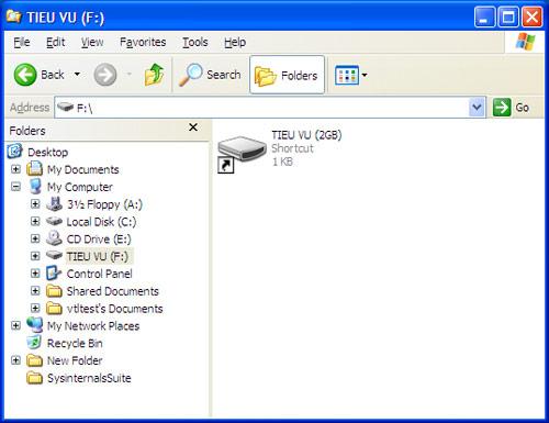 Phát hiện loại virus mới bùng phát qua USB - 1