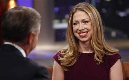 Con gái Bill Clinton sẽ theo đuổi chính trị - 1