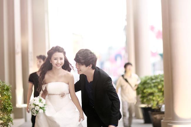 Ngắm bộ ảnh cưới của cặp hot teen Quỳnh Anh Shyn - Bê Trần